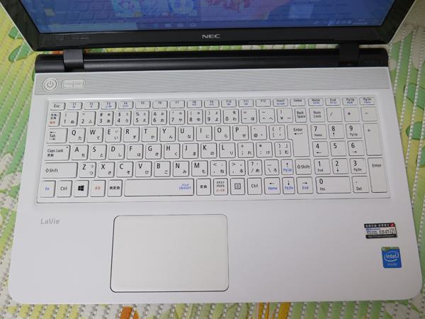 【2015年モデル★爆速新SSD360GB】NS150/A NEC ホワイト 高速CPU(Broadwell) 最新Windows10 ★ メモリ4GB Blu-ray Wi-Fi HDMI Office2016_画像2