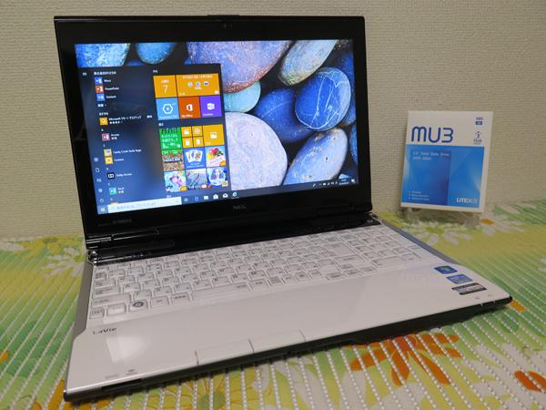 【高速Core i7(Ivy Bridge)★爆速新SSD480GB】LL750/H NEC ホワイト 最新Win10 ★ メモリ8GB Blu-ray Office2016スピーカー高音質YAMAHA製