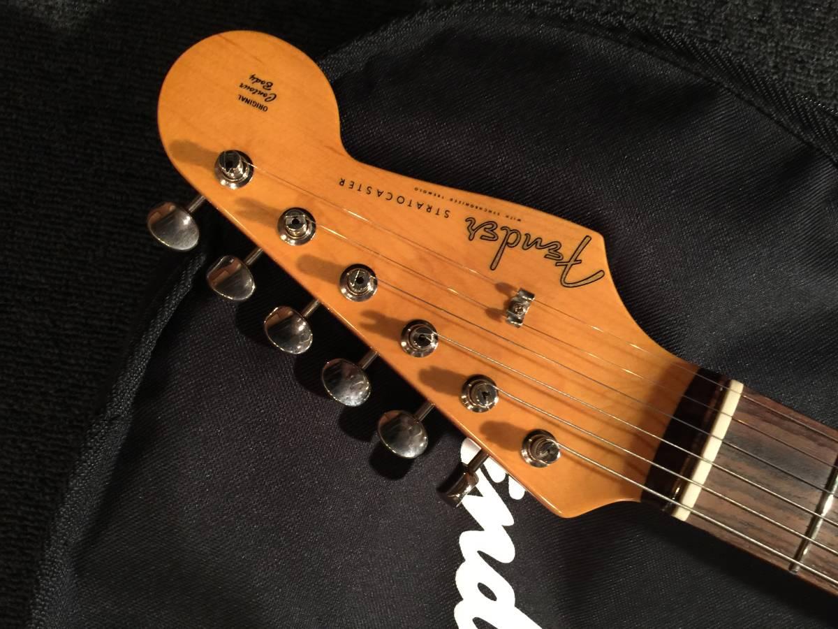 DK-061 SHOP ORDER レアカラー!FenderJapan ST62-70TX ULP/R No.040818 _画像3