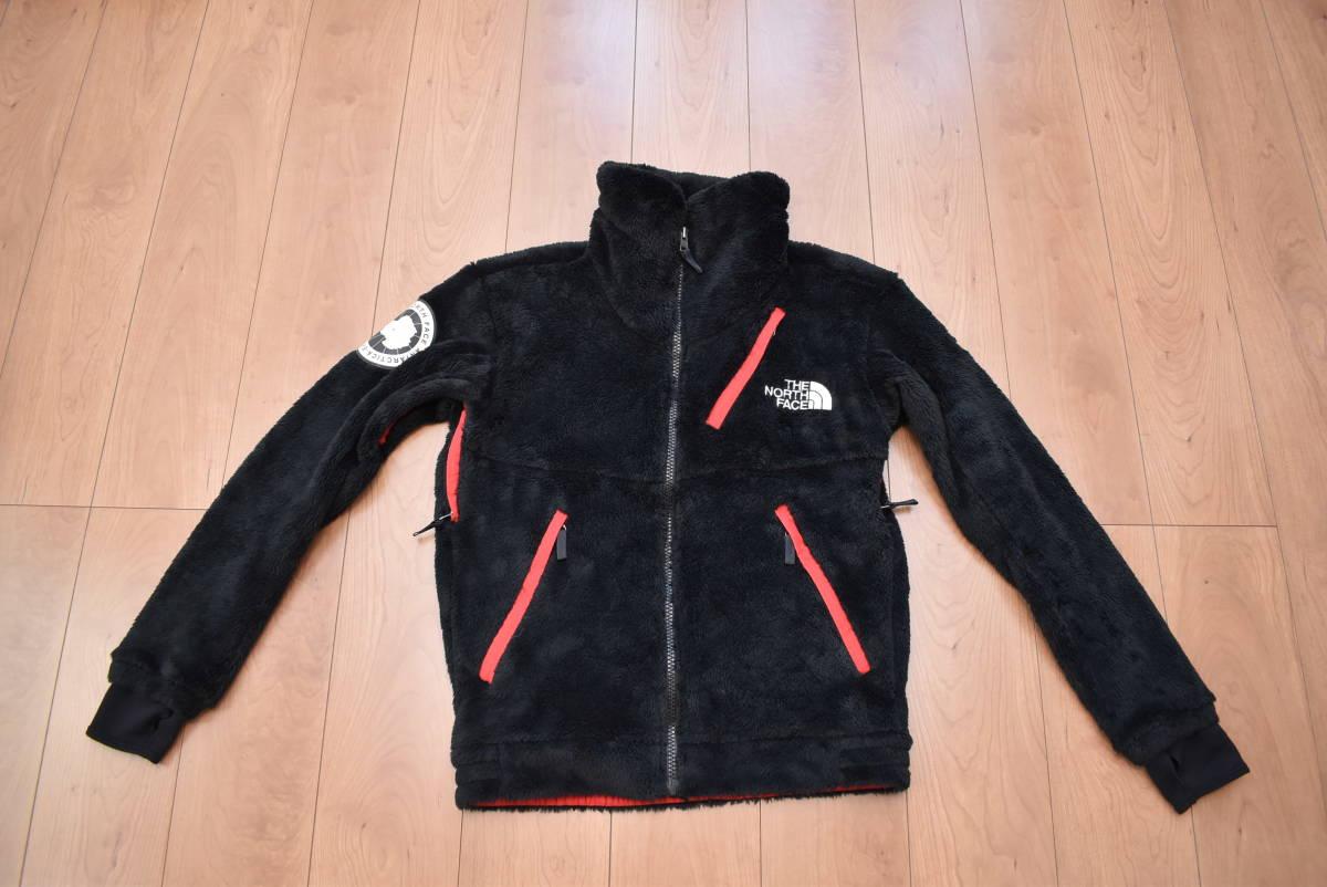 美品 希少カラー THE NORTH FACE ノースフェイス NA61501 Antarctica アンタークティカ バーサ ロフト ジャケット 黒赤 フリース