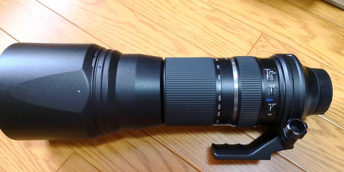 TAMRON SP 150-600mm F/5-6.3 Di VC USD (Model A011) [ニコン用]_画像2