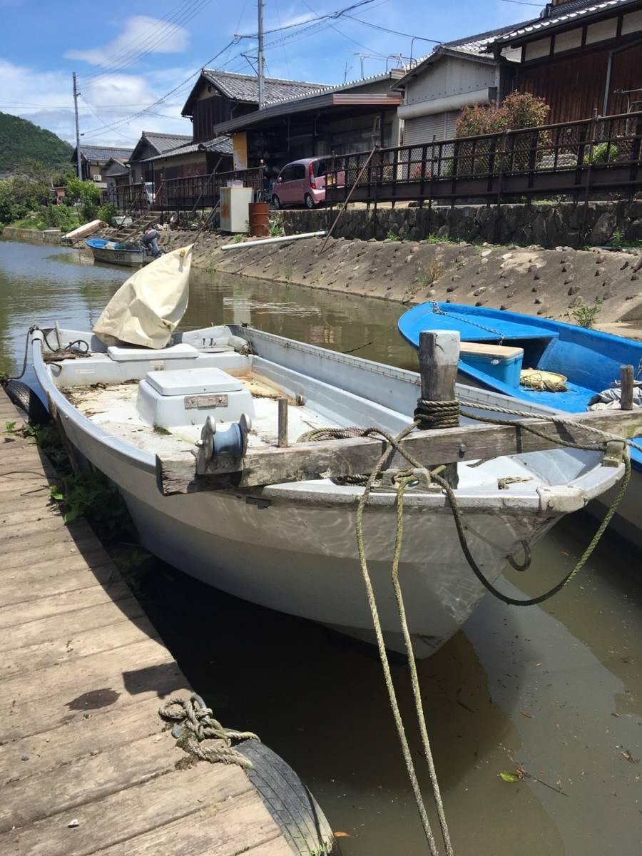 ヤマハ U-16F 和船 フィッシング ボート エンジン 船外機 ヤンマー ホンダ 25馬力 4サイクル 琵琶湖発