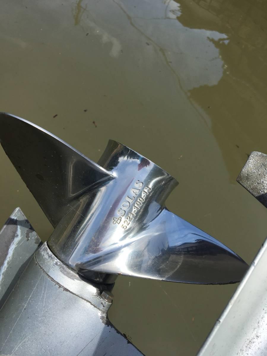 ヤマハ U-16F 和船 フィッシング ボート エンジン 船外機 ヤンマー ホンダ 25馬力 4サイクル 琵琶湖発_画像7