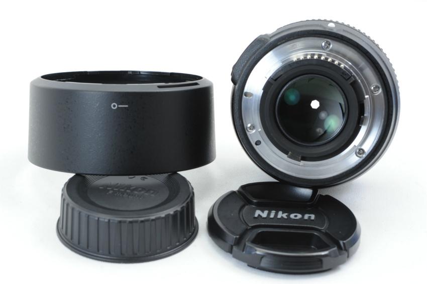 【ecoま】ニコン NIKON AF-S 50mm F1.8 G フード付 単焦点 オートフォーカスレンズ_画像2