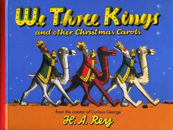 即決*《同梱歓迎》* 洋書/楽譜 We Three Kings and other Christmas Carols FOSSETTE8 三人の王様 アメリカ 英語 絵本多数出品中 #1699_画像1