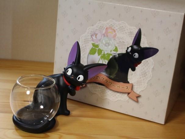 レア 魔女の宅急便 ジジのフラワーベース 花瓶 黒猫 スタジオジブリ_画像2