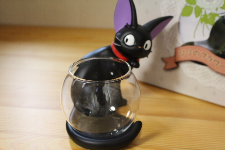 レア 魔女の宅急便 ジジのフラワーベース 花瓶 黒猫 スタジオジブリ_画像4