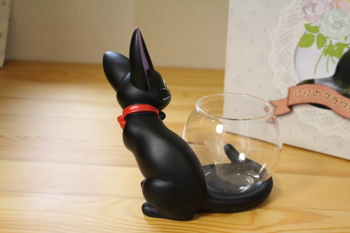レア 魔女の宅急便 ジジのフラワーベース 花瓶 黒猫 スタジオジブリ_画像6