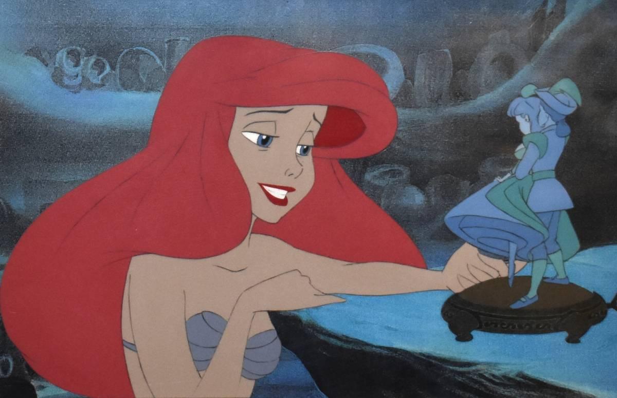 Disney ディズニー リトルマーメイド アリエル セル画 原画 限定 レア 入手困難 絵画 ビンテージ_画像2