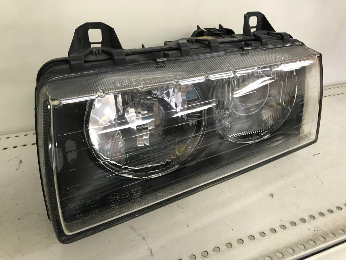 BMW E36 後期 純正ヘッドライト イボ有り M3 318is 320i 323i 325i 328i 綺麗_画像6