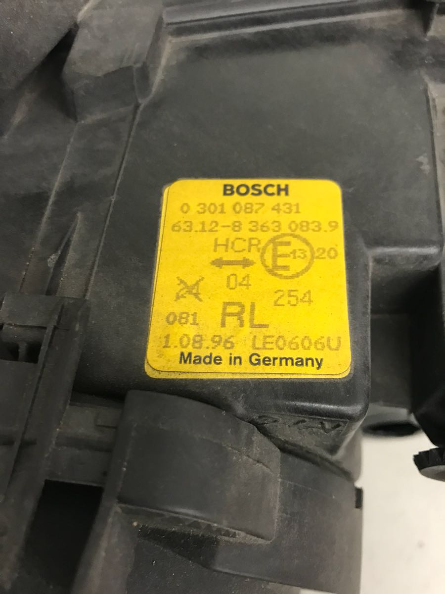 BMW E36 後期 純正ヘッドライト イボ有り M3 318is 320i 323i 325i 328i 綺麗_画像10
