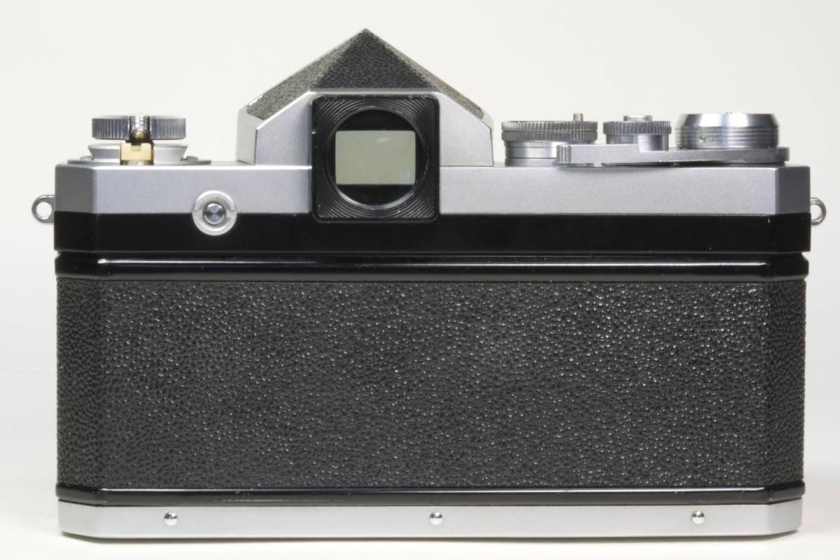 ニコンF アイレベル シルバー  Nikkor-H 50mm F1:2.0 動作確認品_画像4