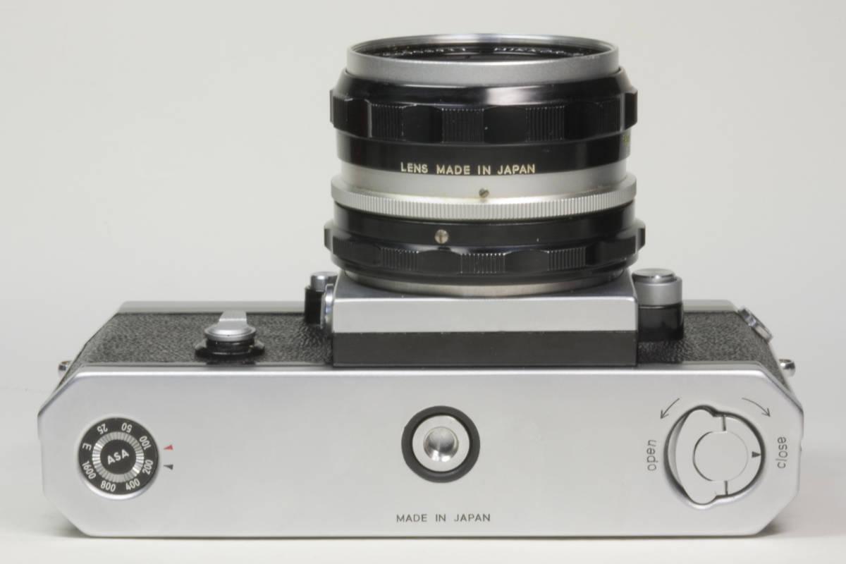 ニコンF アイレベル シルバー  Nikkor-H 50mm F1:2.0 動作確認品_画像5