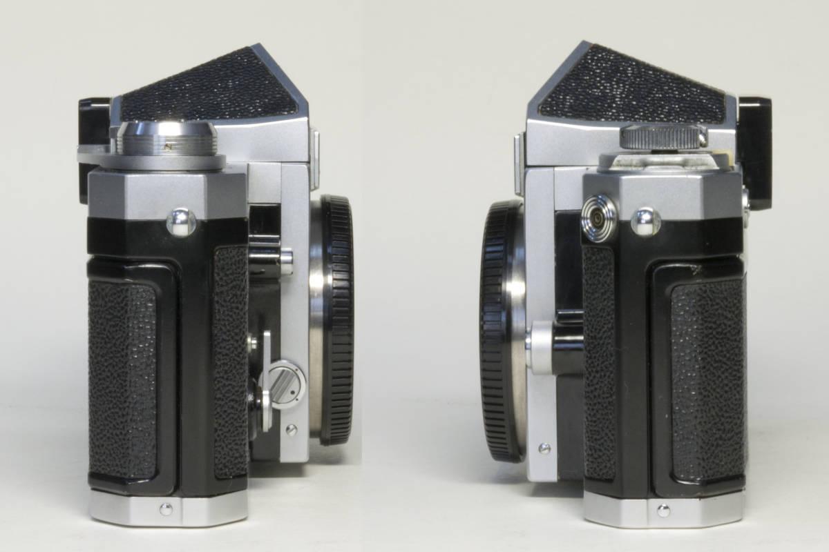ニコンF アイレベル シルバー  Nikkor-H 50mm F1:2.0 動作確認品_画像6