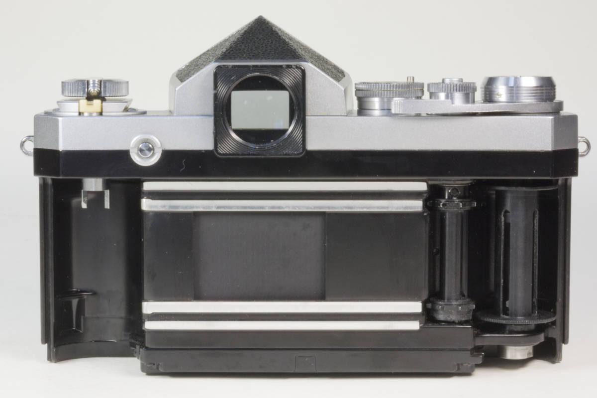 ニコンF アイレベル シルバー  Nikkor-H 50mm F1:2.0 動作確認品_画像7