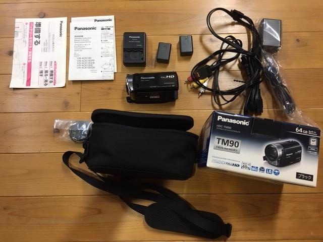【美品!!】Panasonic HDC-TM90