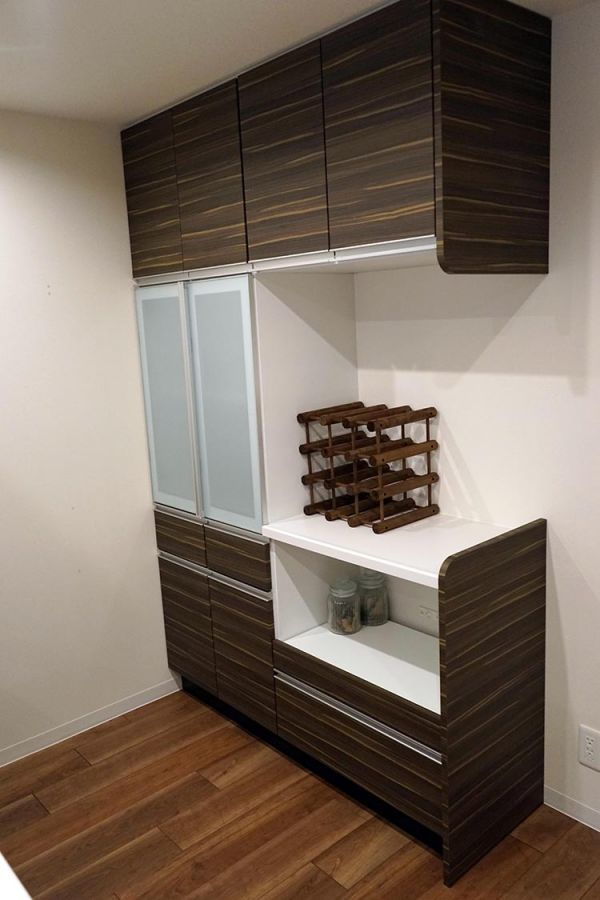 AOJ34AB その他 展示品 タカラスタンダード システムキッチン カップボード 水栓 食洗器 レンジフード付 コンロ無_画像9