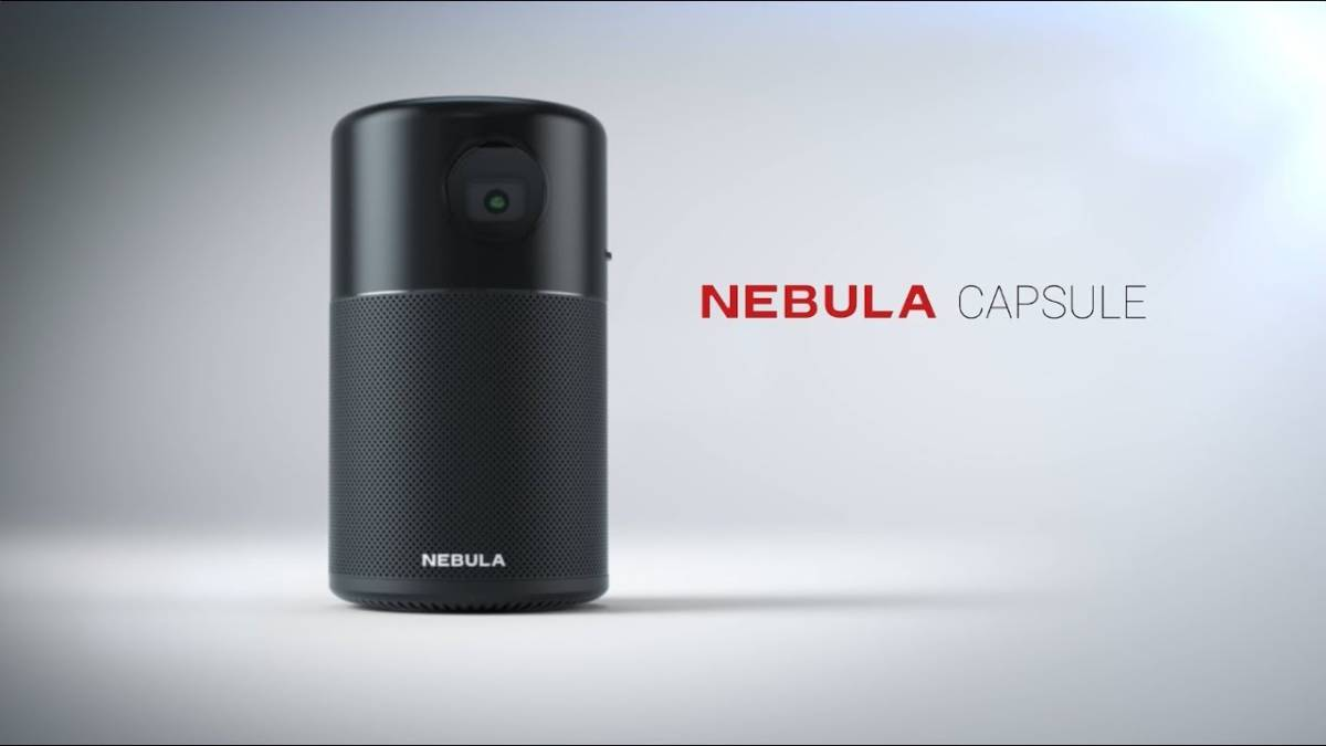 Anker Nebula Capsule (Android搭載プロジェクター)_画像2