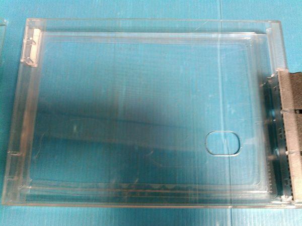 エクセル DVD 防犯ケース(カバー付き) 防犯シール付き 100個⑧_防犯タグ枠タイプ