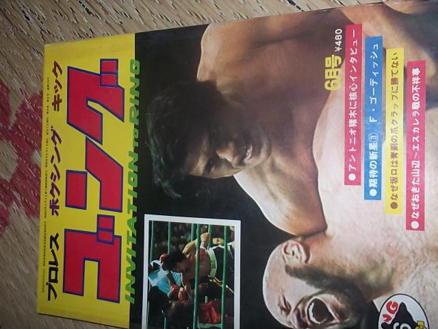 日刊スポーツ。月刊ゴング1976年6月号。マスカラス。馬場。プロレス。アリ。猪木_画像1