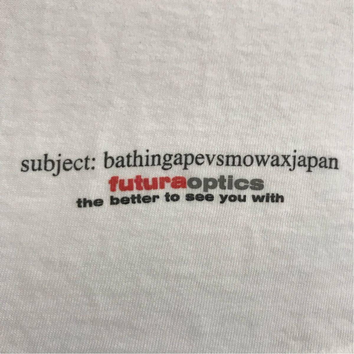★激レア★ 初期 futura unkle Tシャツ L anvil a bathing ape bape ベイプ 90s オールド ビンテージ stash oneita nowhere 裏原宿 kaws_画像5