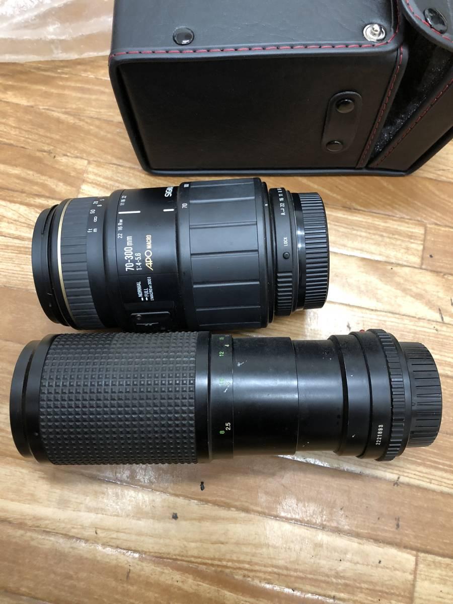 カメラ まとめ 一眼レフ フィルムカメラ レンズ ストロボ など_画像7