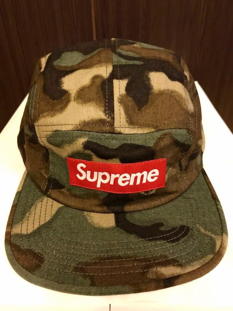 3ce8267890c 代購代標第一品牌- 樂淘letao - Supreme Military Painted Camo Camp Cap 2015SS 新品未使用直営店購入