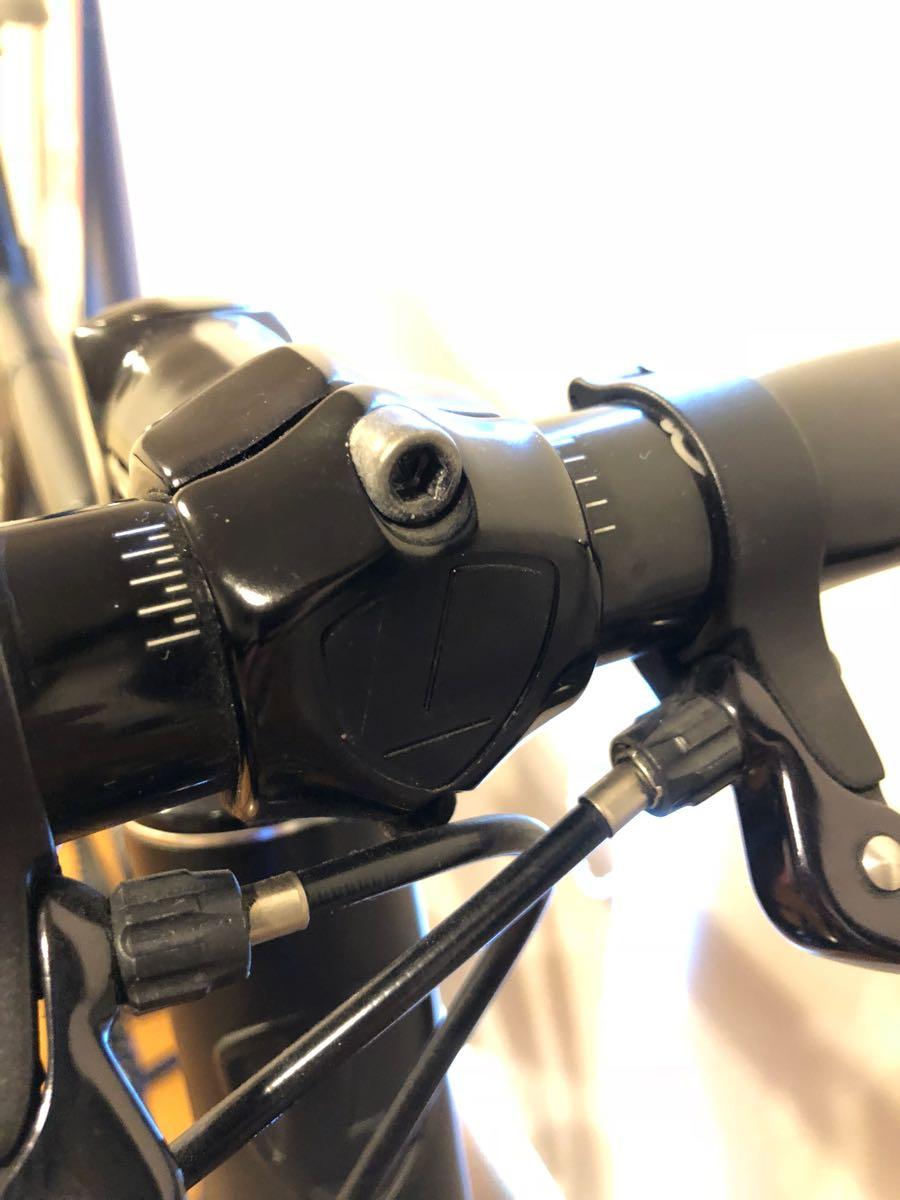 相談可 LEADER BIKES 735TR BLACK ブラック M サイズ BROTURES 原宿 購入 ピスト リーダーバイク ブローチャーズ ABUSチェーン付_画像5