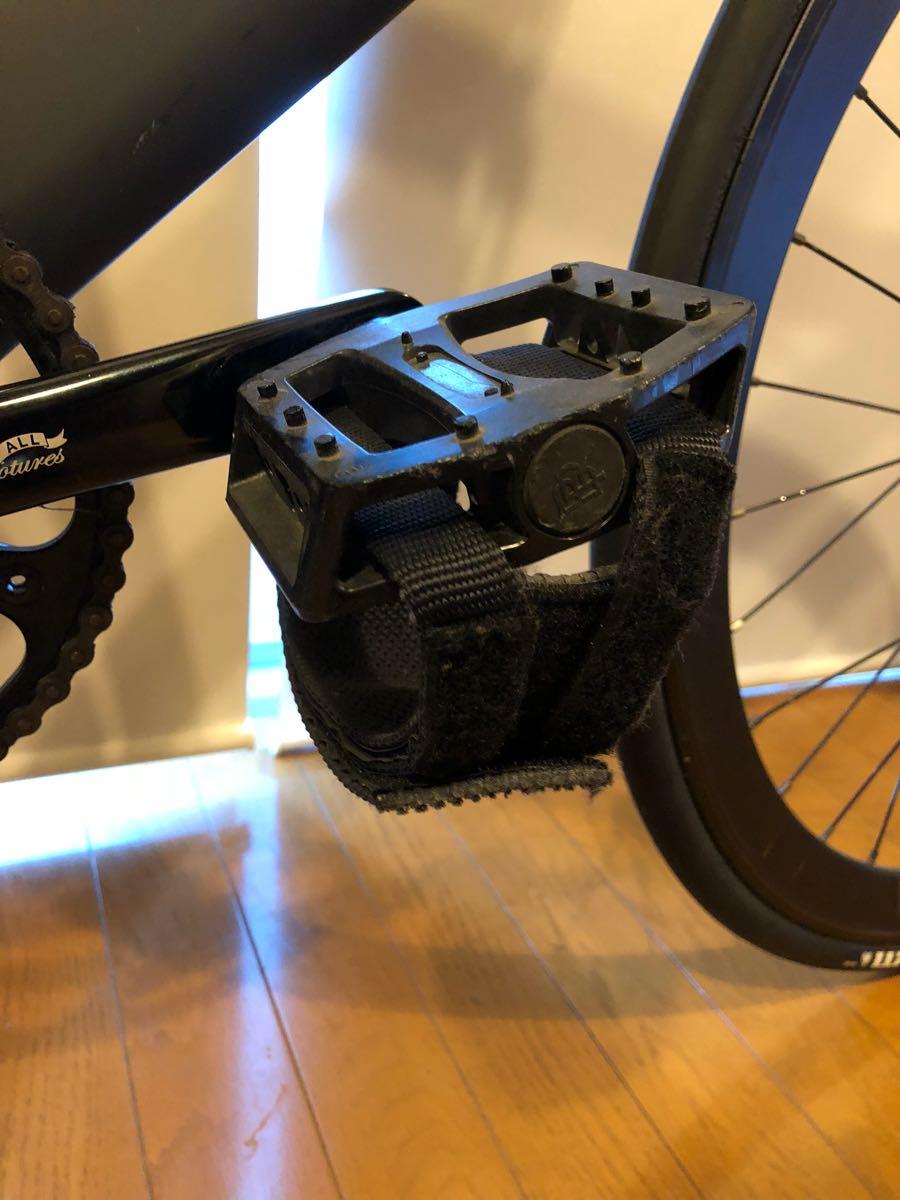 相談可 LEADER BIKES 735TR BLACK ブラック M サイズ BROTURES 原宿 購入 ピスト リーダーバイク ブローチャーズ ABUSチェーン付_画像9