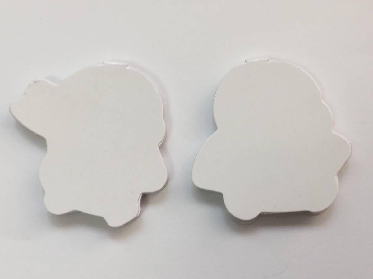 au 三太郎シリーズ 金ちゃん&桃ちゃん ミニふせん_画像4