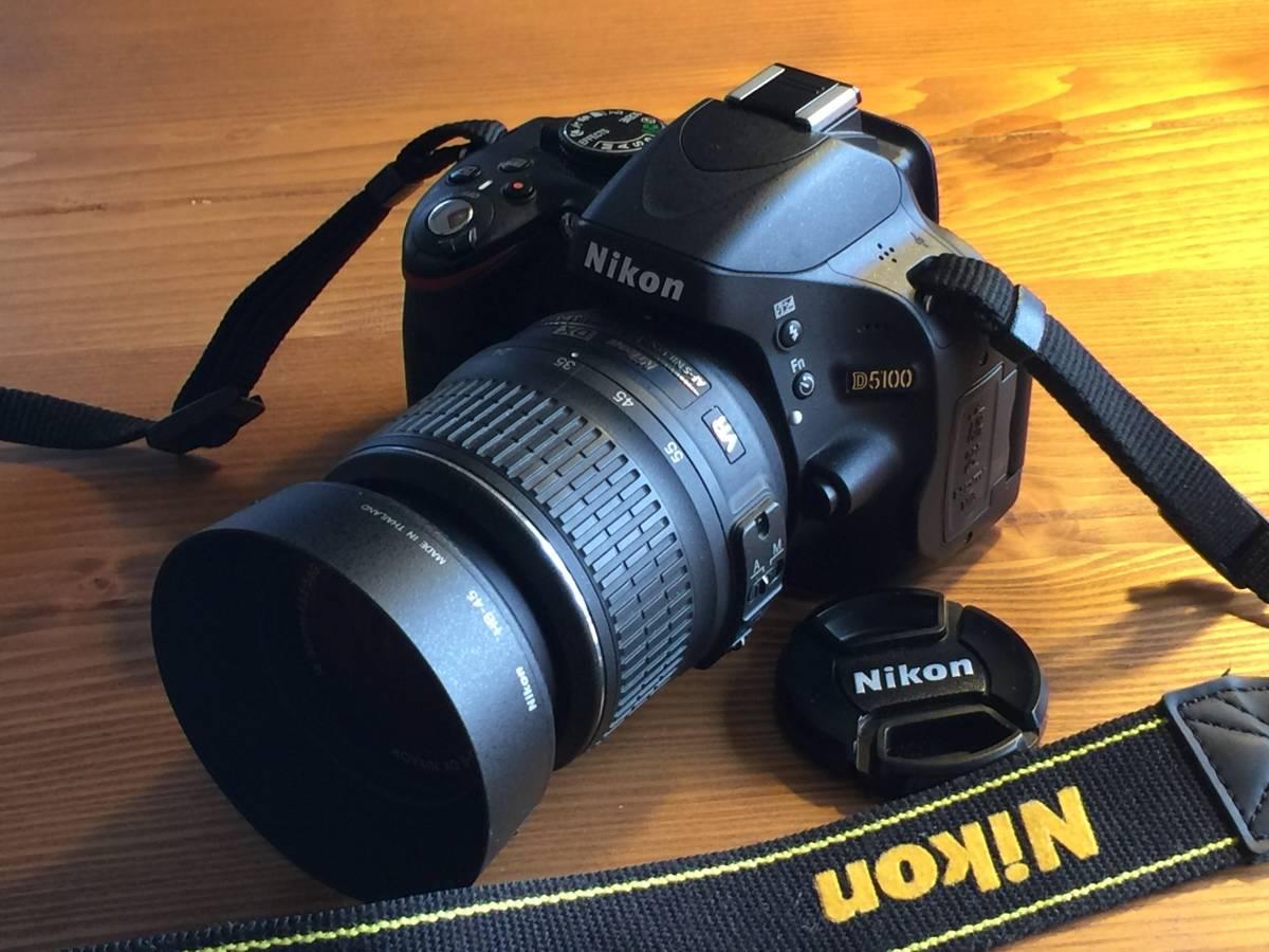 NIKON ニコン D5100 18-55mm レンズキット 美品