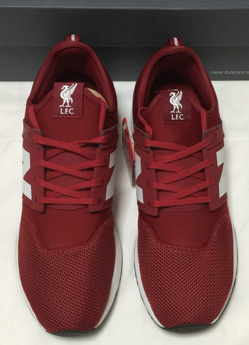 5c5ee7024 New Balance LIVERPOOL FC MRL247OO red New balance liba pool collaboration  sneakers limitated model red CLASSIC RED new goods unused 28 usa10