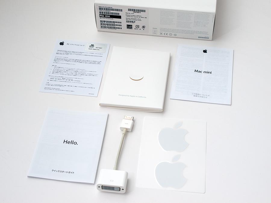 ■ Mac mini [Late 2012] Core i7 2.3GHz, メモリ16GB, SSD256GB_画像5