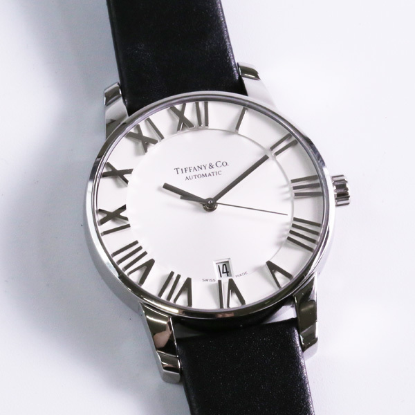 Tiffany &Co ティファニー アトラス AT Z1800.68.10A21A51A 自動巻き メンズ 腕時計 中古