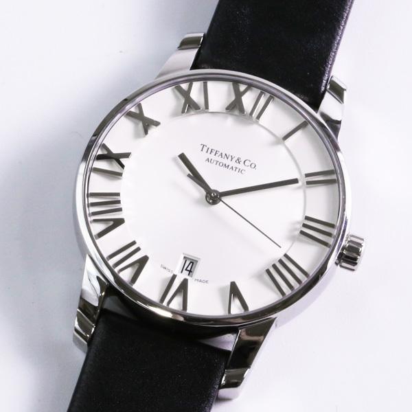 Tiffany &Co ティファニー アトラス AT Z1800.68.10A21A51A 自動巻き メンズ 腕時計 中古_画像2