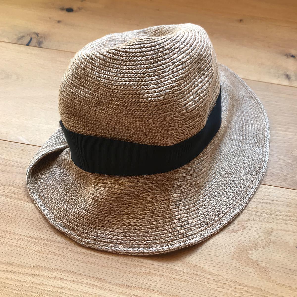【送料無料】 Borsalino / ボルサリーノ 【帽子】 【中古】 【サイズ:58】 【レディース】