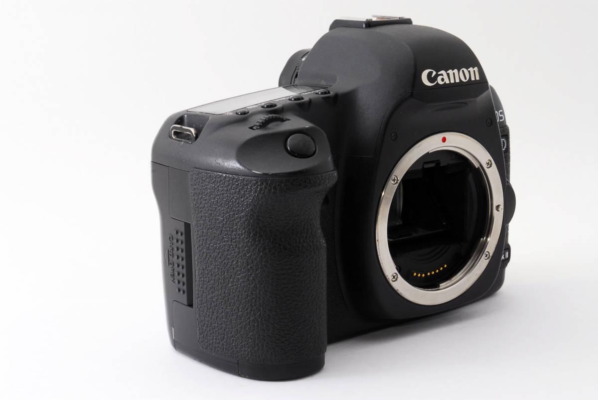 ◆完動品◆Canon キャノン EOS 5D Mark Ⅱ ボディ 付属品充実♪ 通常使用における不具合は半年間保証します! 16j18r-229_画像4