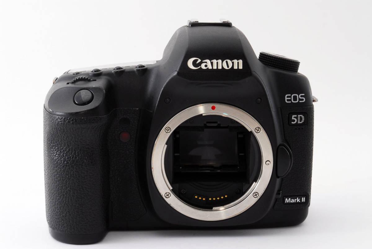 ◆完動品◆Canon キャノン EOS 5D Mark Ⅱ ボディ 付属品充実♪ 通常使用における不具合は半年間保証します! 16j18r-229_画像3