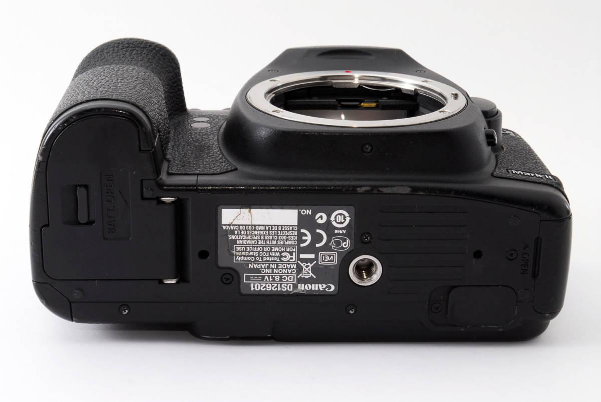◆完動品◆Canon キャノン EOS 5D Mark Ⅱ ボディ 付属品充実♪ 通常使用における不具合は半年間保証します! 16j18r-229_画像6