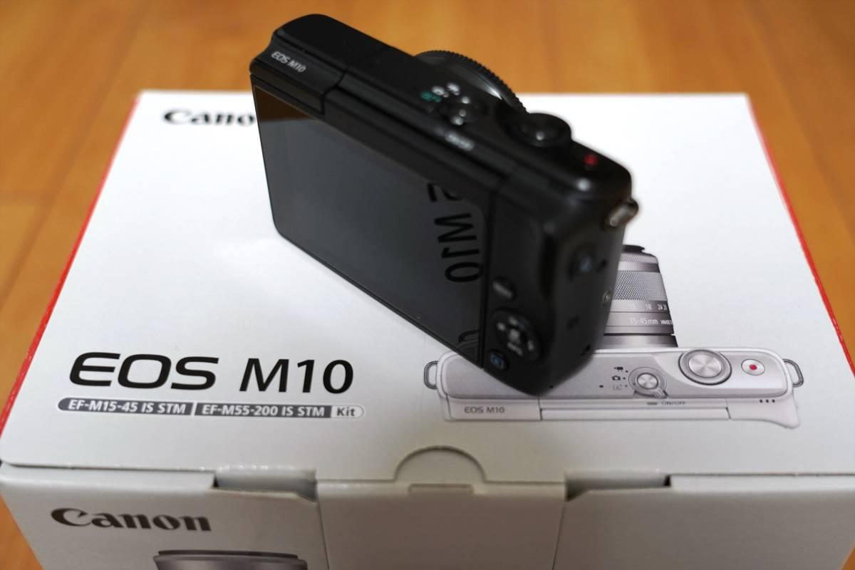 ★新品同様 EOS M10 ボディ [ブラック]_画像2