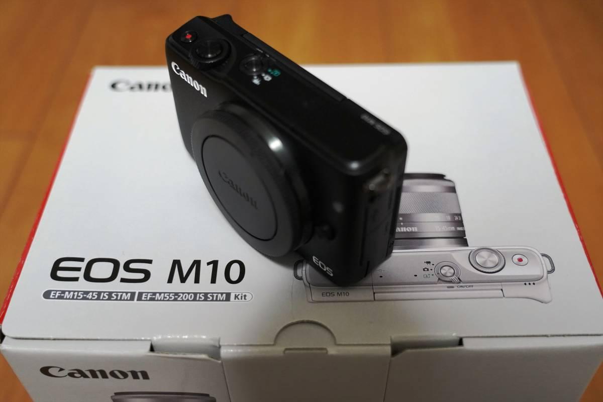 ★新品同様 EOS M10 ボディ [ブラック]_画像3