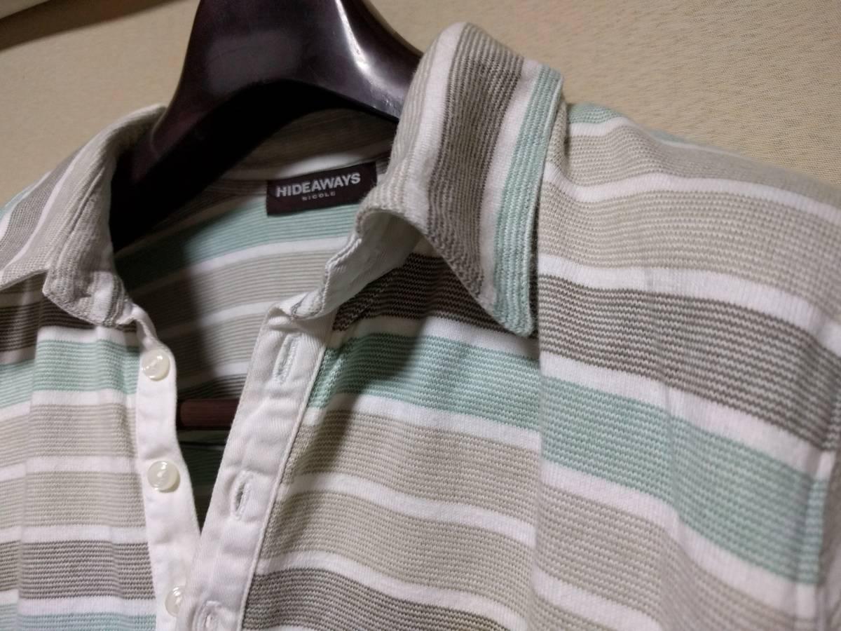 ★ 送料込み HIDEAWAYS NICOLE  ポロシャツ 48 ★_画像3