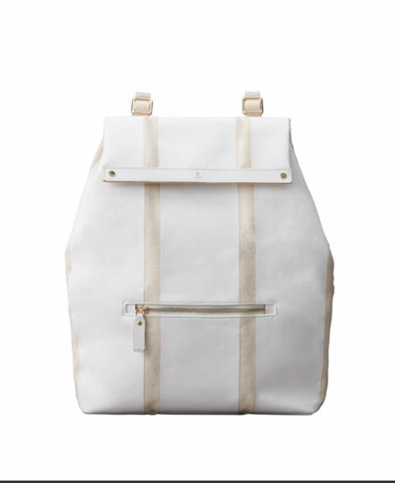 特価 新品 送料込 ミレスト MILESTO Punto&Linea バックパック リュック バック トラベル トラベルグッズ スーツケース ホワイト 無印良品