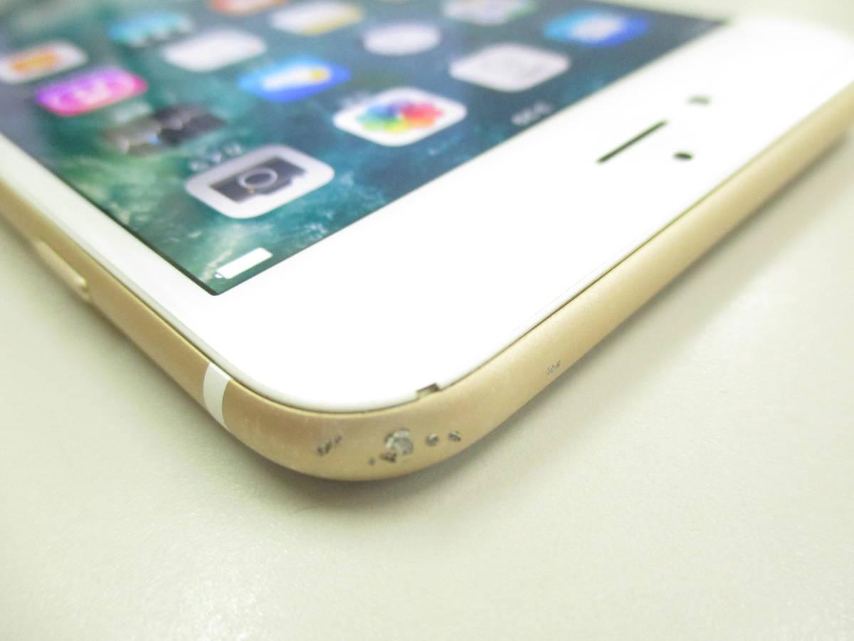 ◆◇1スタ SoftBank ◯判定 Apple iPhone6 Plus 64GB ゴールド ジャンク品◇◆_画像5