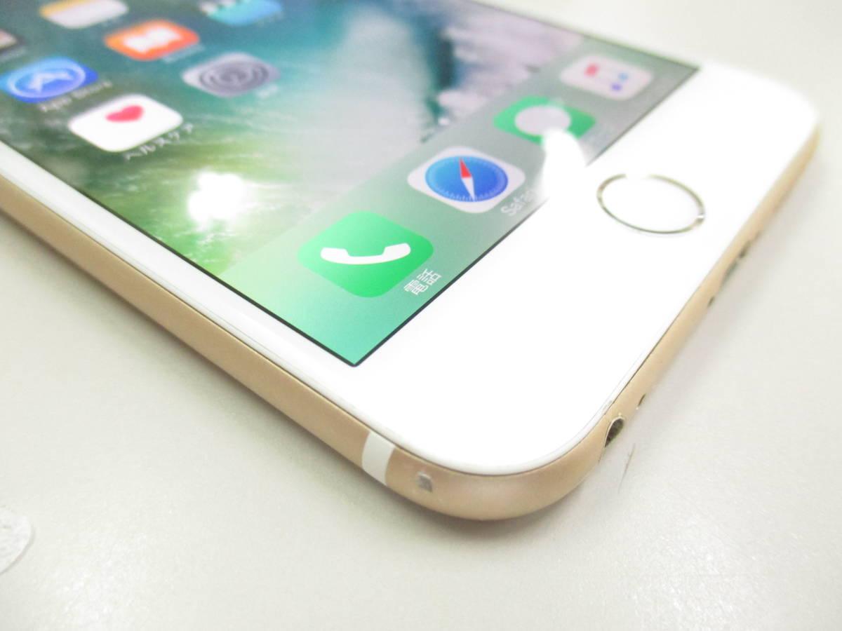◆◇1スタ SoftBank ◯判定 Apple iPhone6 Plus 64GB ゴールド ジャンク品◇◆_画像3