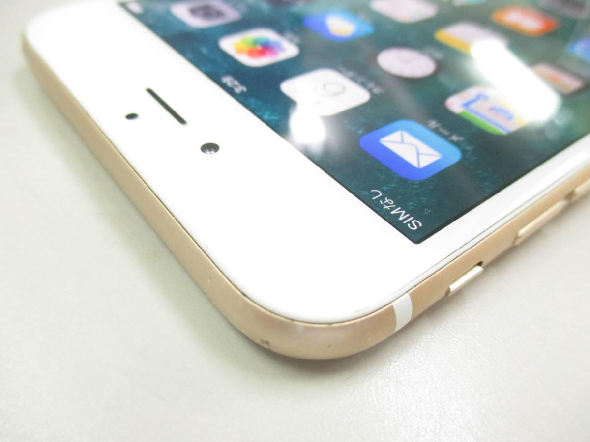 ◆◇1スタ SoftBank ◯判定 Apple iPhone6 Plus 64GB ゴールド ジャンク品◇◆_画像4
