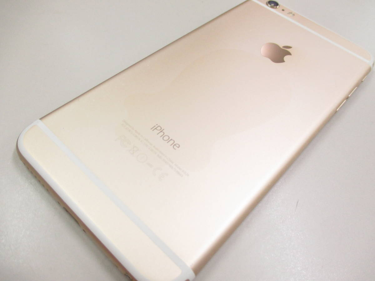◆◇1スタ SoftBank ◯判定 Apple iPhone6 Plus 64GB ゴールド ジャンク品◇◆_画像6