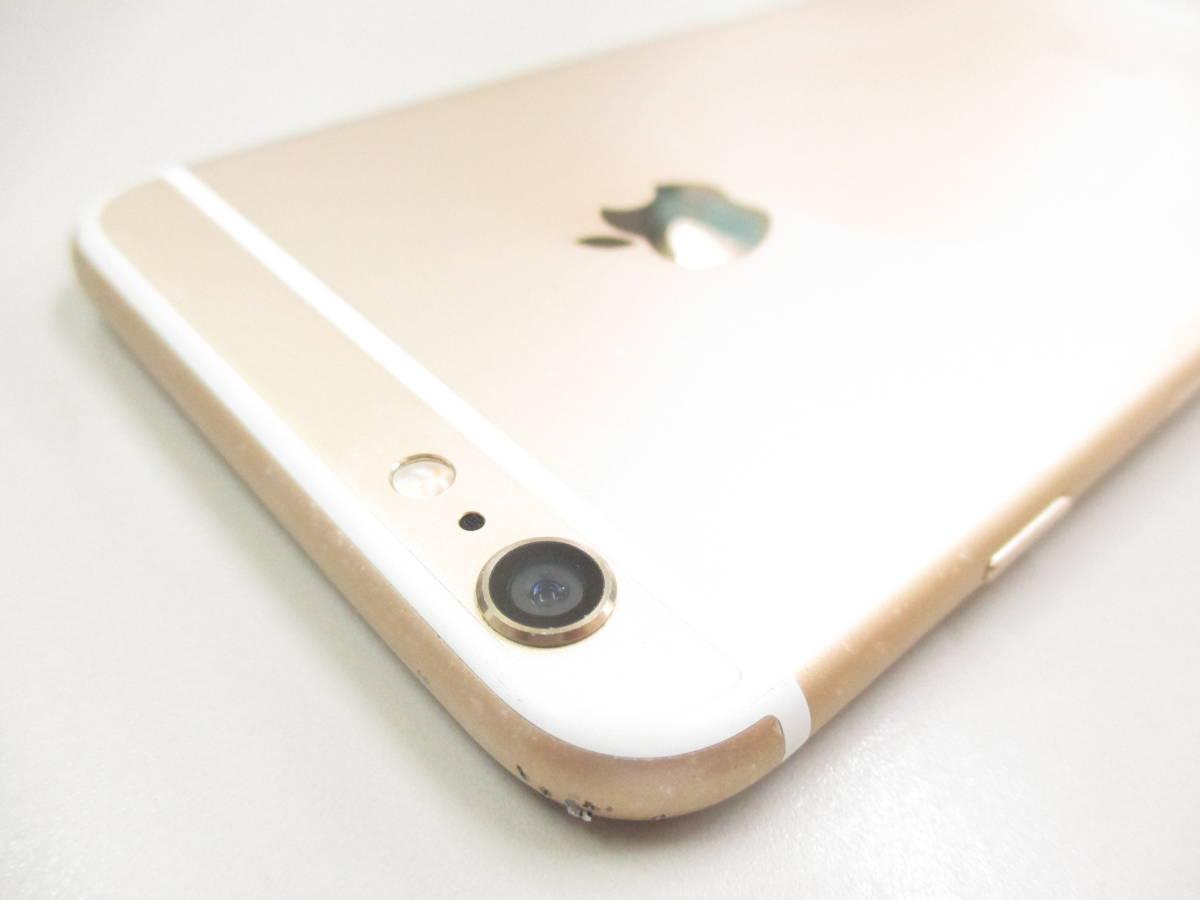 ◆◇1スタ SoftBank ◯判定 Apple iPhone6 Plus 64GB ゴールド ジャンク品◇◆_画像9
