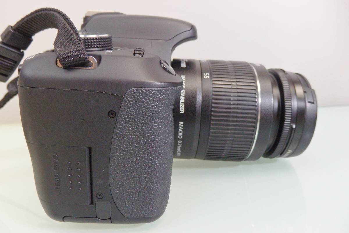 美品・使用数回♪ Canon EOS KISS X5 一眼レフ デジタルカメラ レンズ DS126311 デジカメ キャノン EF-S18-55mm F3.5-5.6 バッグ付 おまけ_画像7