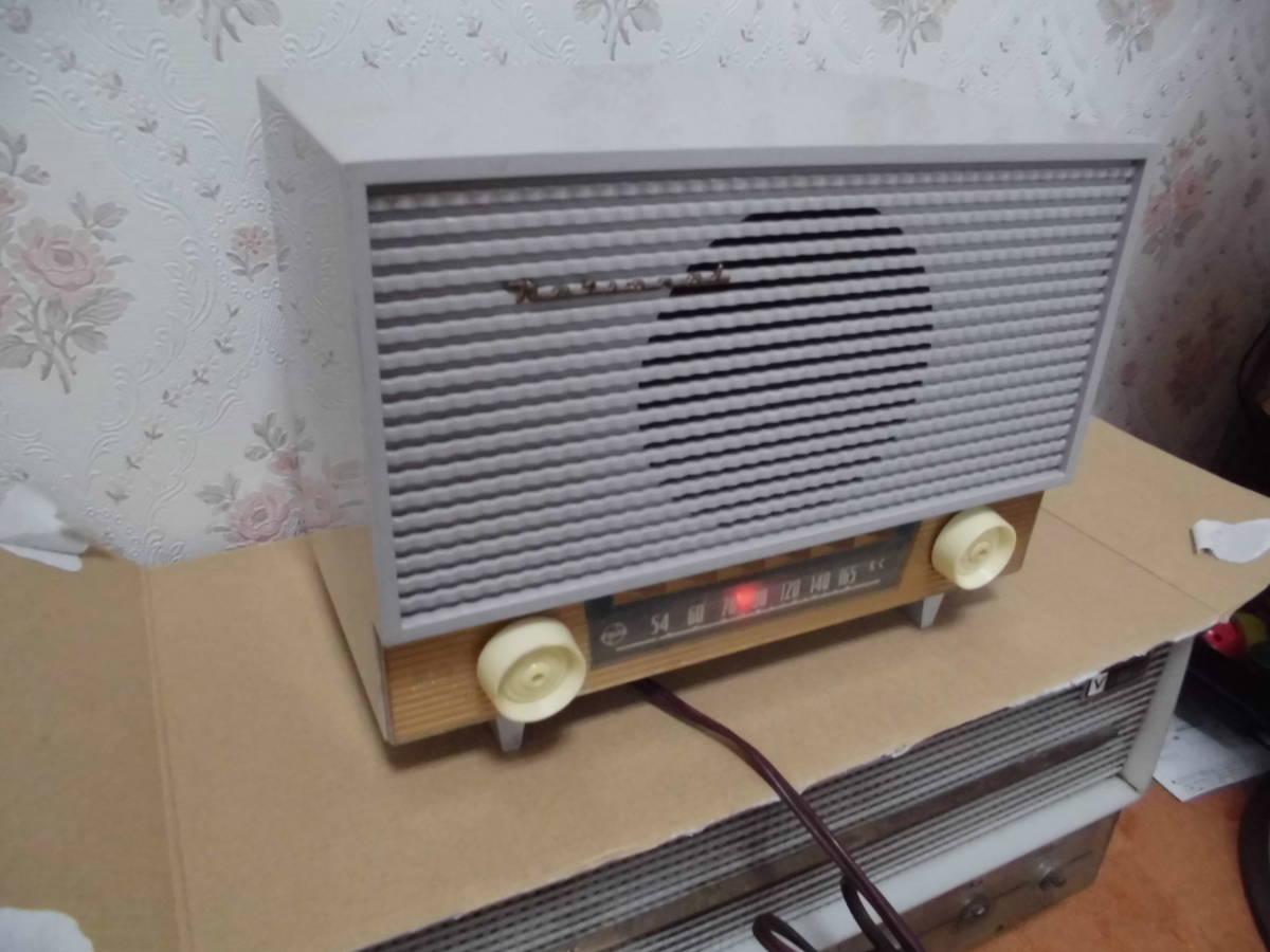 National vacuum tube radio small size CX-430 repair settled